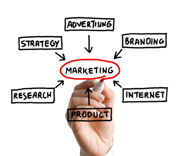 Within marketing their are many different types of fields.