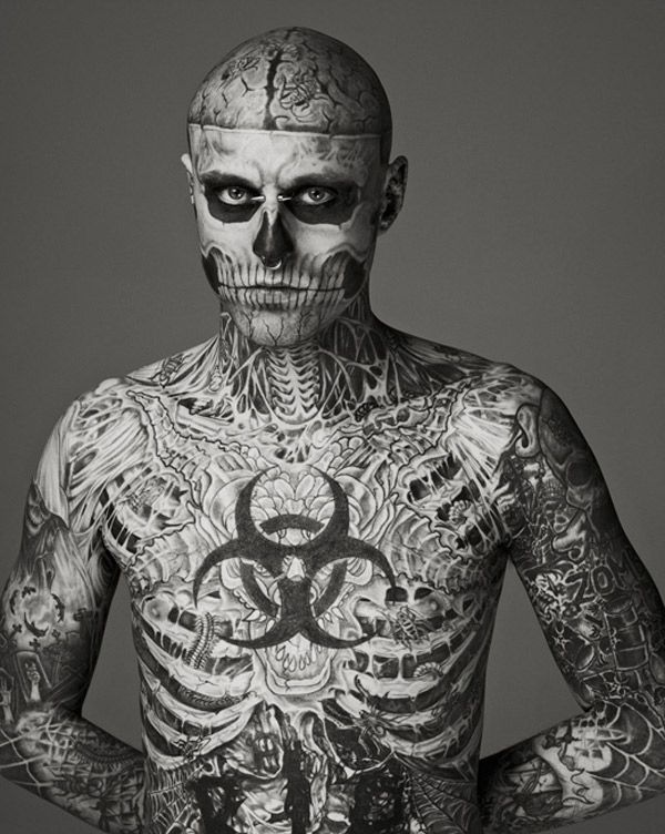 "fashion rio con la presencia del ""zombie boy"" de lady gaga 