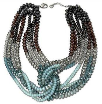 Glamour Mocca Necklace from Swarovski