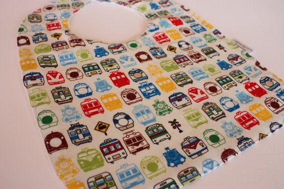 Baby Boy's bib  Trasnport Pattern  FREE by RainbowSparklesBlue