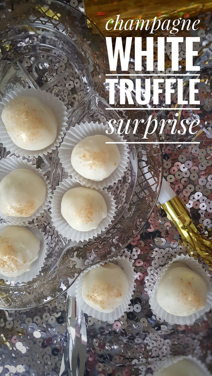 Champagne White Truffle Surprise