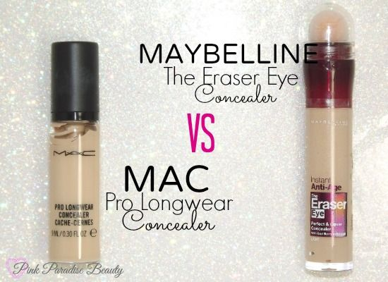 New Blog post up MAC Pro Longwear VS Maybelline The Eraser Eye Concealer http://pinkparadisebeauty.blogspot.co.uk/2014/05/maybelline-eraser-eye-vs-mac-pro.html