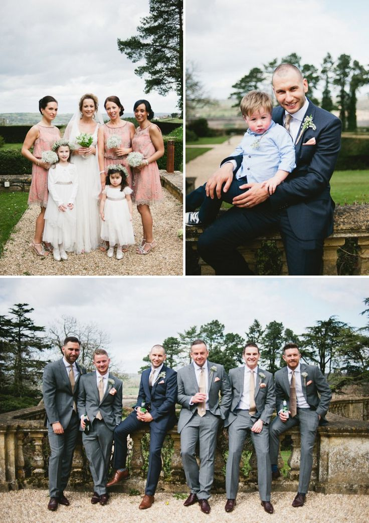 A Vintage Inspired Wedding At Coombe Lodge, Somerset, Bristol | Rock My Wedding