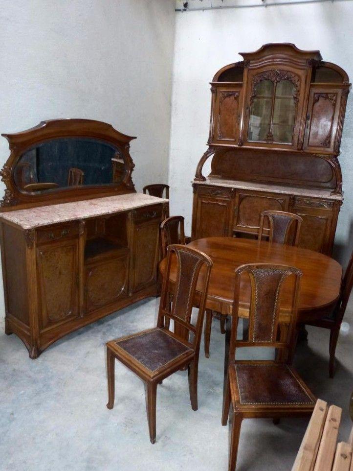 Coiffeuse Art Nouveau Ecole De Nancy Autres Meubles Mobilier De Salon Art Nouveau Coiffeuse