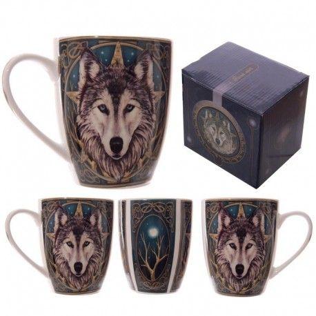Mug en porcelaine - Tête De Loup