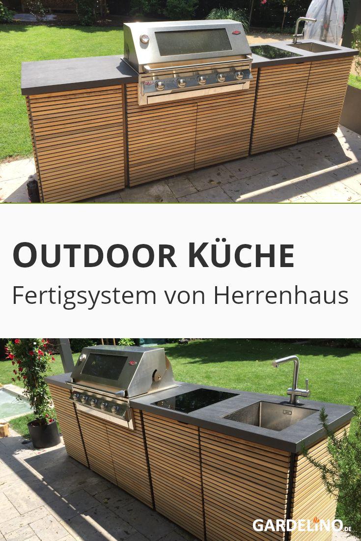 Fertiges Outdoor Küchen System von Herrenhaus   Kochen im freien ...