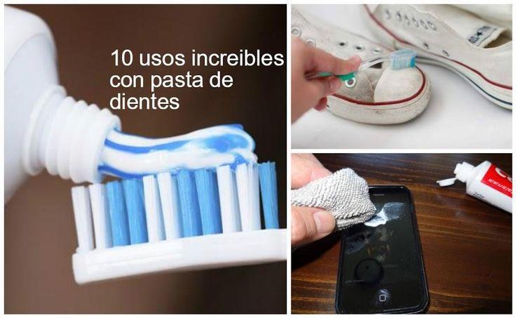 10 Usos increibles que le podemos dar a la pasta de dientes