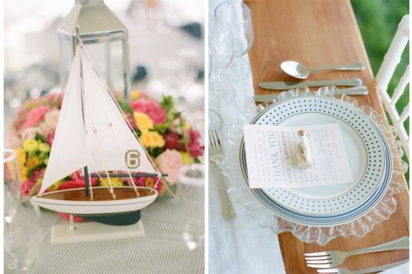 聖ミカエルメリーランド州の航海ネイビーとピンクの結婚式