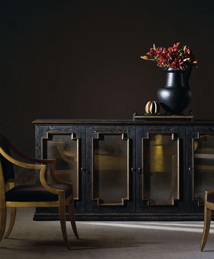 Bernhardt Interiors | Quinn Buffet, Lisette Chair