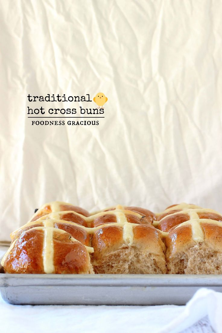 These are the best hot cross buns I've tasted. Soft and sweet these buns are perfect for breakfast on Easter morning or Good Friday.