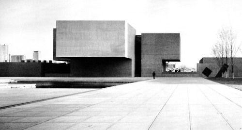Everson Museum of Art, New York, 1968 - IM Pei. Actuality. Amazing!