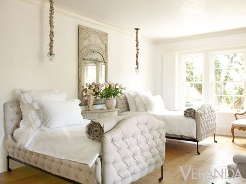 White Home Decorating Ideas - Pamela Pierce Interior Design - Veranda.com