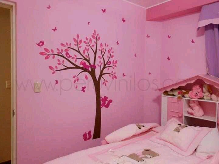 Deco para niñas | Vinilos para Niños | Pinterest | Princess room, Deco interiors and Interiors
