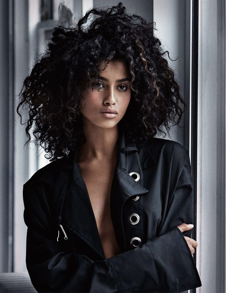 Imaan Hammam, Taylor Hill & Anna Ewers in Vogue UK February 2017 by Patrick Demarchelier