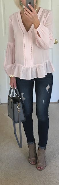 Long Sleeve Peplum Top + Friday Favorites | On the Daily EXPRESS