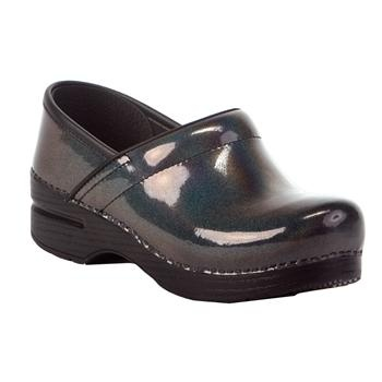 My new nursing shoes they are super glittery I love them already and the wee ones will love them too #danskos at vonmaur $135.00