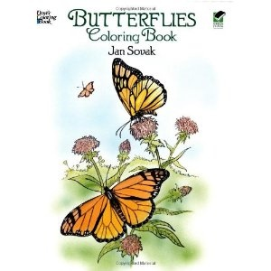 Butterflies Coloring Book (Dover Coloring Book)  Jan Sovak