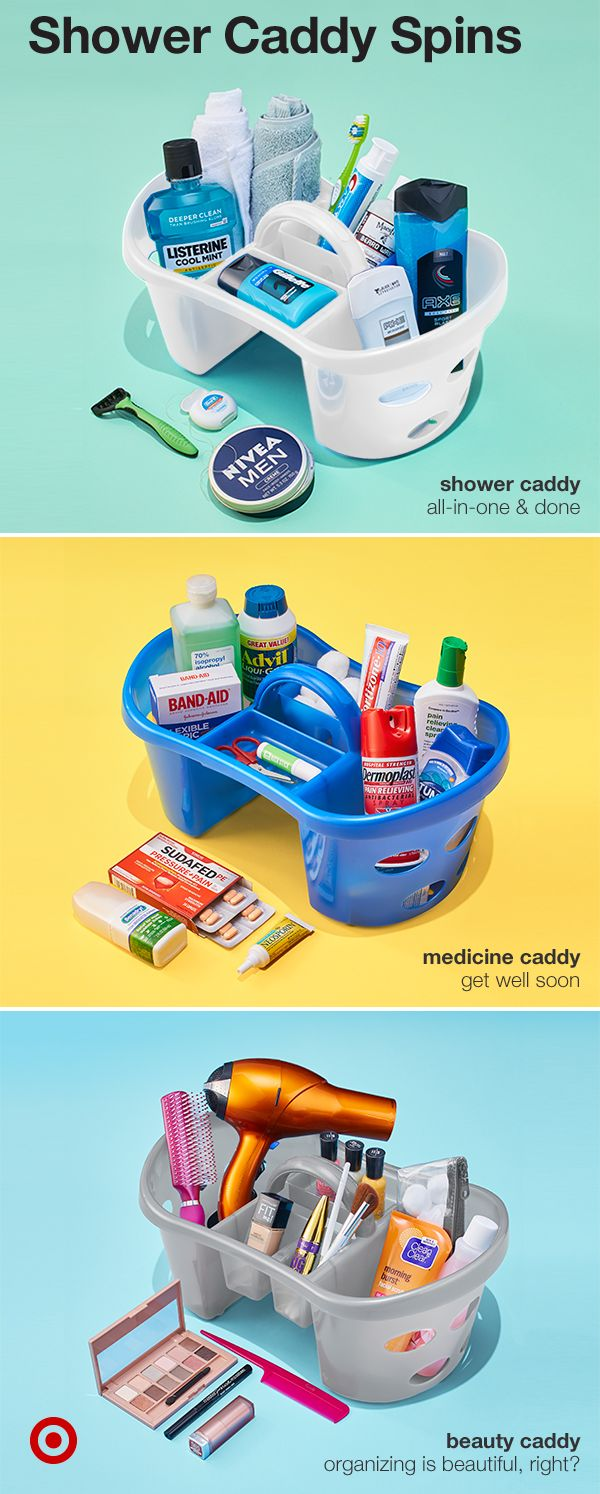 best 25 shower caddy dorm ideas on pinterest shower caddies take the classic college shower caddy to a new organized level by making any must have portable whether it s beauty products like a hair dryer