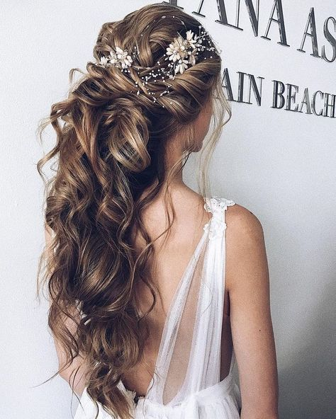 17 Best Ideas About Wedding Hairstyles On Pinterest: Best 25+ Half Up Wedding Hair Ideas On Pinterest