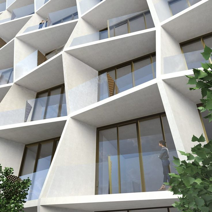 Studio Gang, the Chicago firm led by architect Jeanne Gang, has unveiled plans for a 14-storey apartment block in the Miami Design District, with a sculptural facade that will frame sea-facing balconies.