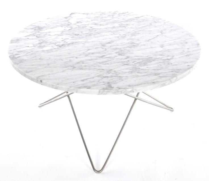 O table soffbord - carrara marmor från OX Design hos ConfidentLiving.se
