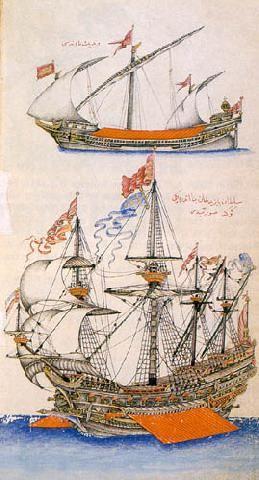 Two Ottoman Ships