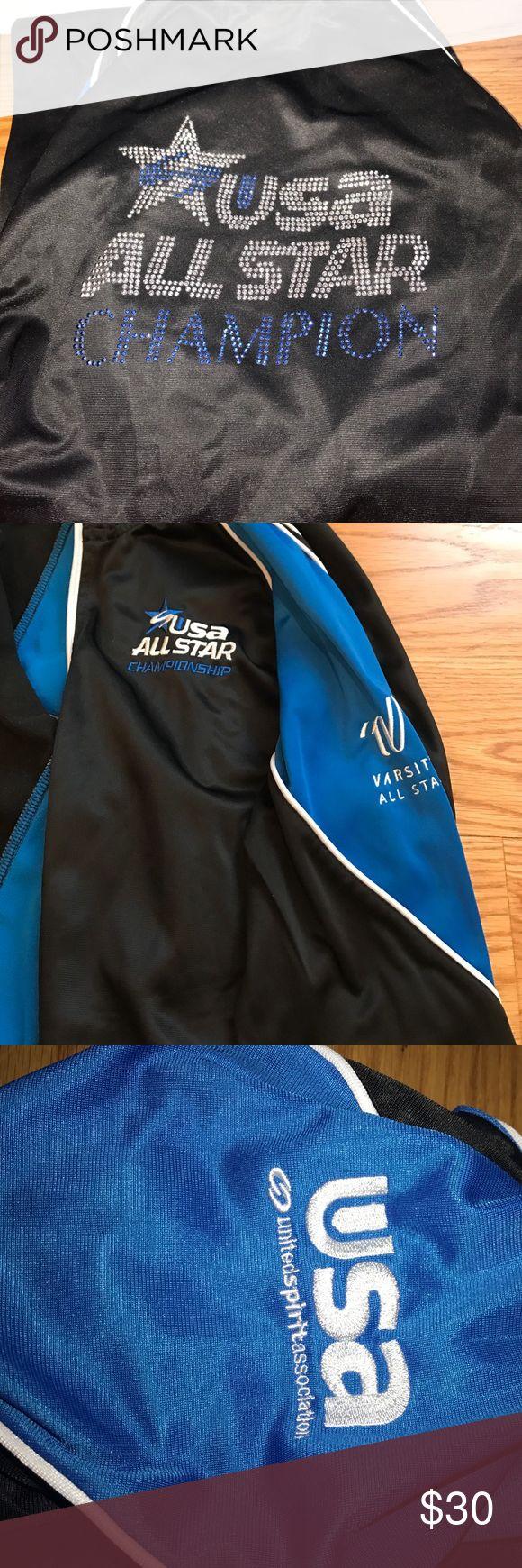 USA CHEER national champion jacket Varsity all star Usa championship winning jacket S:L varsity Jackets & Coats
