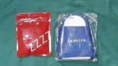 DELTA デルタ航空 アメニティ スリッパアイマスク耳栓セット未開封新品