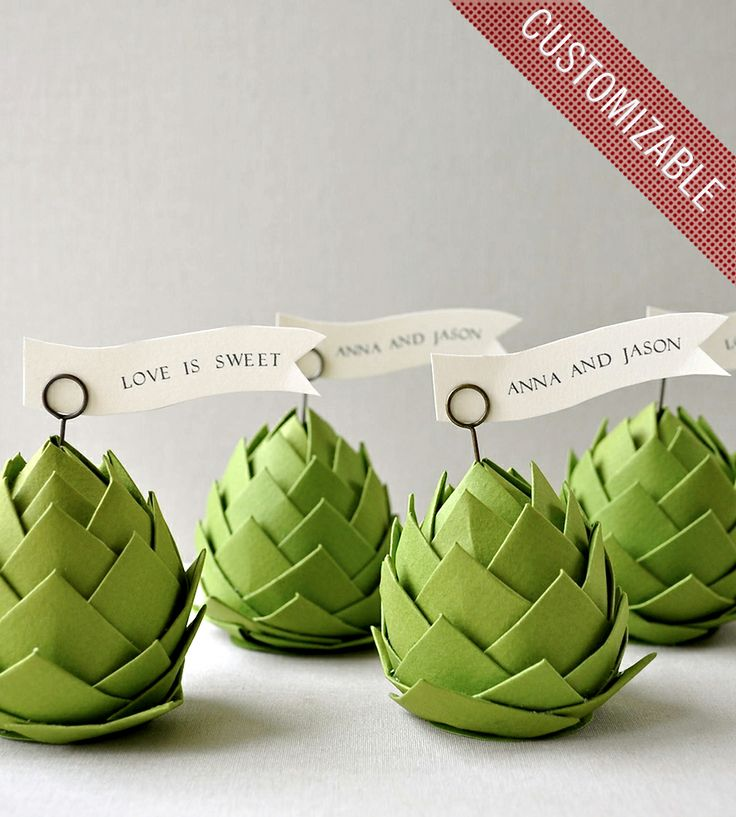 1908 best images about paper art on pinterest for Artichoke decoration