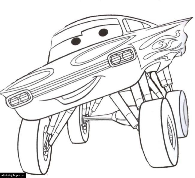 Cars Ramone Printable Coloring Page Ecoloringpage Com Coloring