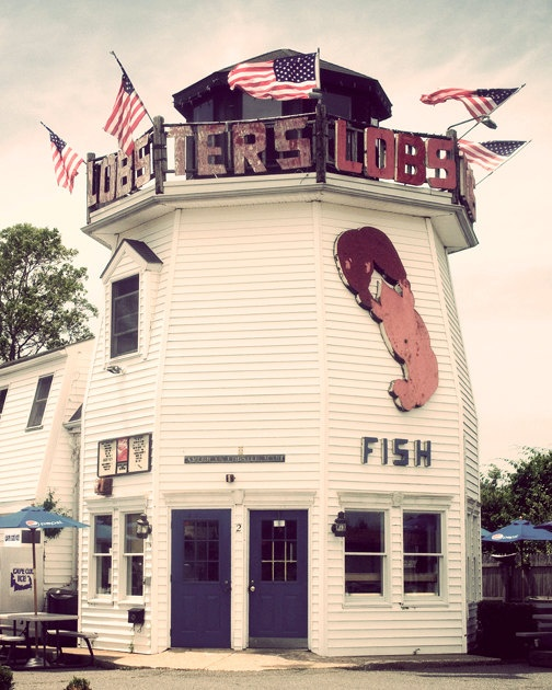 lobster shack in cape cod.