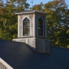 rustic cupola