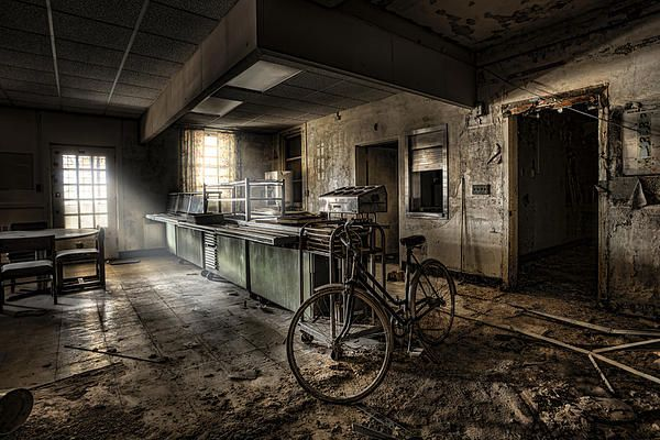 This would be the end - Cafeteria - Abandoned psychiatric facility - Gary Heller