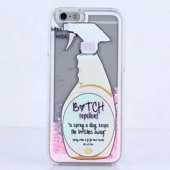 Btch repellent iPhone 6 Plus case Btch repellent iPhone 6 Plus case FLOATING HEARTS Accessories Phone Cases