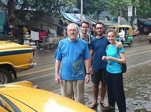 Rodando por Calcuta (India)