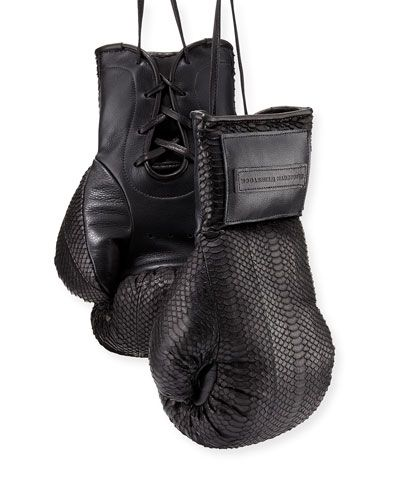 Water snake boxing gloves