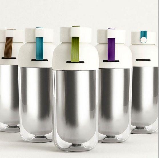 Botella Ecológica de acero inoxidable - Onkawa.com  #regalos #regalosoriginales #regalosfrikis #gadgets #gadgetsfrikis