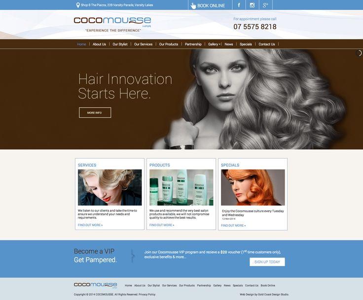 Cocomousse Website  www.cocomousse.com.au