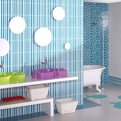 26 best agatha ruiz de la prada images on pinterest prada bathroom and home ideas - Piastrelle bagno pamesa ...