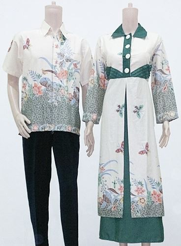 50 Gambar Model Baju Batik Gamis Kombinasi Terbaru ~ Ayeey.com ... 75e30e95f3