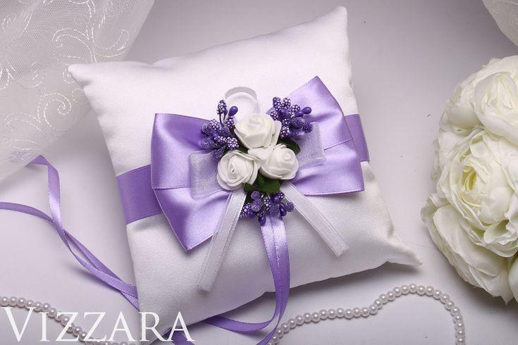 Bruiloft kussen lila bruiloft kussen lavendel kussen lila bruiloft lavendel zomer bruiloft bloemen we