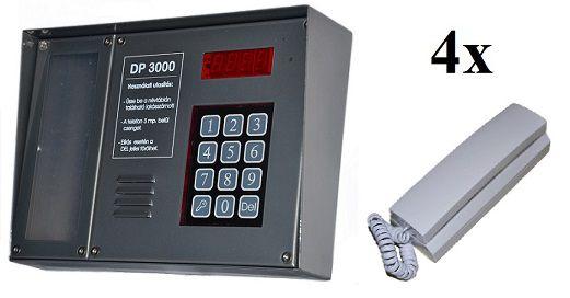 DP3000 Proxy audio kaputelefon szett.  http://tarsashazikaputelefonok.hu/termek/dp3000-proxy-audio-kaputelefon/