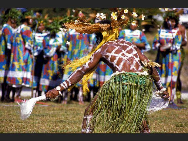Danse traditionnelle de l'Ile des Pins.