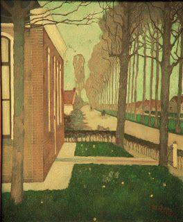 jan mankes | Jan_Mankes,_Weg_langs_de_vaart_in_de_Knijpe,_1914.jpg