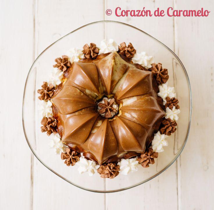 https://flic.kr/p/DK4DEW | Bizcoflan de Chocolate y Brownie | Blog Corazón de Caramelo www.corazondecaramelo.es