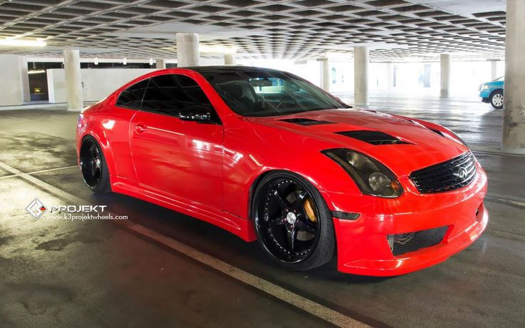 God damn this is the sexiest g35 ive ever seen.  Normally not a fan of red cars but this is sexy