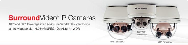 360 Video Surveillance Cameras - Arecont Vision