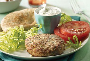 Recipe Rehab™ Mediterranean Turkey Burger- 6 WW Points+