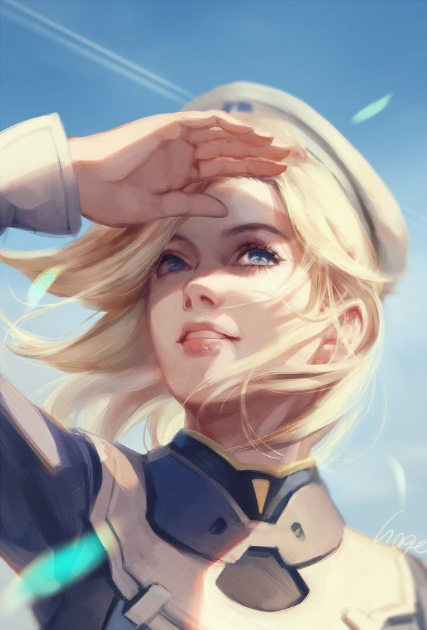 Mercy overwatch from hage_2013