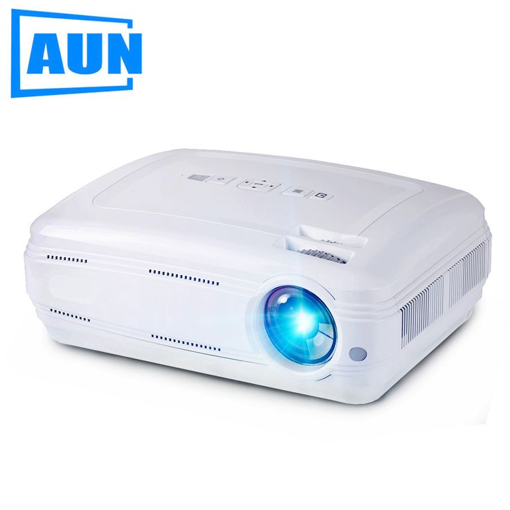 AUN AKEY2 LED Projector, 3500 Lumens Android 6.0 Beamer. Built-in WIFI, Bluetooth, Support 4K Video, Full HD 1080P LED TV. optical information Brightness: 3500 Lumens Determination proportion: 1280 x 768. Bolster 1080P, 4K video differentiate proportion: 3000:1 Focal point: F=126mm(Manual centering) Lifetime: 20,000, best offer